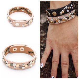 "Jewelry - ✨New! ""Street Chic"" Distressed Metallic Bracelet"